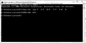 Comandos para reactivar Windows 7