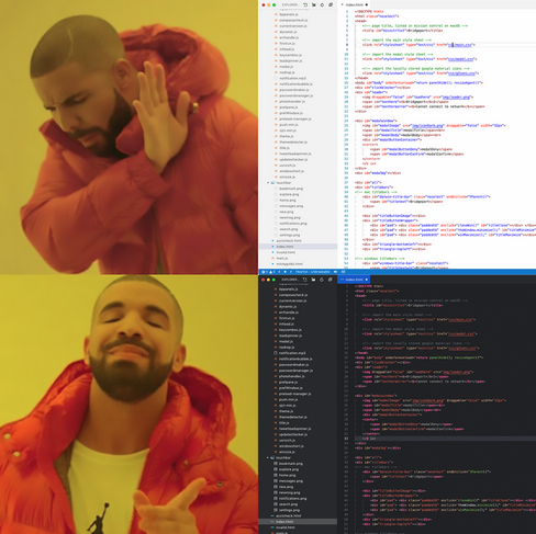 Meme sobre el tema claro y oscuro